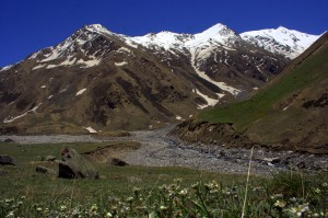 Source of Tirthan River