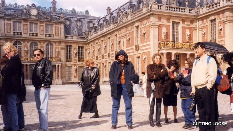 France - Playing cool in Versailles