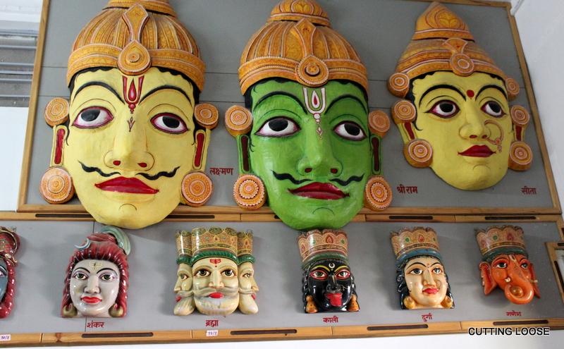Ramayana-themed handicrafts, Tulsi Smarak Bhawan