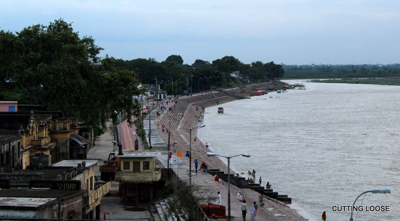 Saryu Embankment